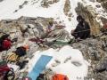 Rozbijanie namiotu w obozie I