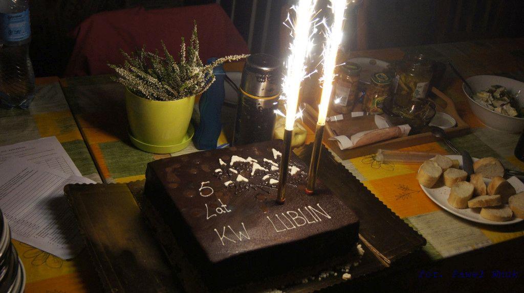 Urodzinowy tort.