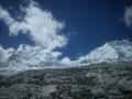 Huascarán 6788 m npm tam do_góry trzeba iść na prawy _wierzchołek