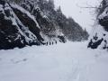 W drodze na lodospad.