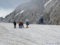 Akcja ratunkowa na lodowcu.