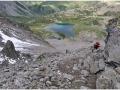 'Kruche' zejście Col d'Enclave 263km.
