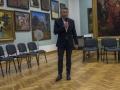 Prezes KWL Piotr Tomala ogłasza przyznanie członkostwa honorowego